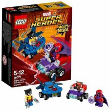 LEGO Super Heroes 76073 Wolverine VS Magneto Marvel Mighty Micros Serie 2