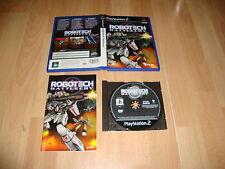 ROBOTECH BATTLECRY DE VICIOUS CYCLE SOFTWARE TDK PARA LA SONY PS2 USADO COMPLETO
