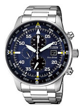 NEW Citizen Crono Aviator Men's Eco Drive Chronograph Watch - CA0690-88L