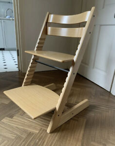 Stokke Tripp Trapp Highchair In Natural Beech Wood