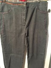 Instants Voles Striped Jeans French Size 42 Us 14