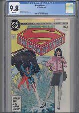 Man of Steel #2 CGC 9.8 1986 DC Superman: John Byrne story and art: New Frame