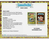 PRE-ORDER: Topps 2020 Garbage Pail Kids Chrome Series 3 Hobby Box-24 Packs- GPK