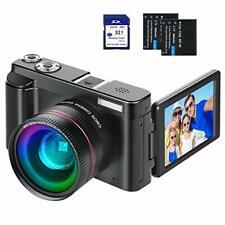 Digital Vlogging Camera YouTube Vlog HD 1080P 30FPS 24MP Camcorder...