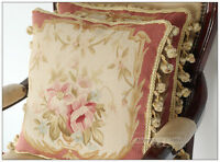 22 Quot X14 Quot Aubusson Pillow Shabby French Chic Sofa Chair