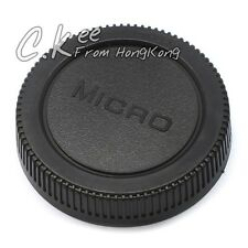 Lens Rear Cap for Micro Four Thirds m4/3