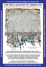 THE DECLARATION OF ARBROATH  GREETING CARD