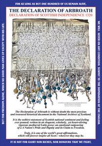 THE DECLARATION OF ARBROATH  GREETING CARD
