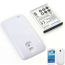 6500mAh Extended Battery for Samsung Galaxy S4 mini GT-i9190 + White case