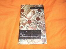 G. SUOLE  STORIA DEL PENSIERO ECONOMICO CAPPELLI 1963