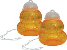More details for 2 outdoor non-toxic bees yellow jackets wasps & hornets catcher killer bait trap