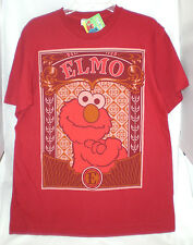 ELMO SESAME STREET LARGE T-SHIRT RED NEW W/ LICENSE TAG