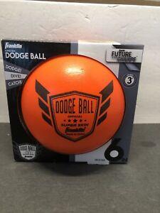 Franklin Future Champs Super Skin Official Dodge Ball - Orange Color