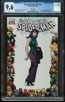 AMAZING SPIDER-MAN # 601 CGC 9.6 NEAR MINT+ VARIANT WHITE PAGES ITEM: G-66