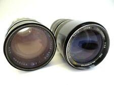 Vintage Soligor Auto Zoom Tele Auto 70-150mm 135mm 35mm Camera Lenses Lens Parts