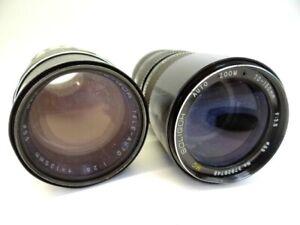Vintage Soligor Auto Zoom Tele Auto 70-150mm 135mm 35mm Camera Lenses Lens Parts