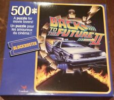 BLOCKBUSTER Back To The Future II VHS CASE 500 Piece Puzzle CARDINAL [New]