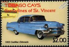 1953 CADILLAC ELDORADO Mint Automobile Car Stamp (2003 Tobago Cays)