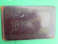 ANTIQUE AUTOGRAPH BOOK SIGNATURES AUTOGRAPHED