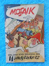 MOSAIK Digedags Nr. 2 Windstärke 12 Hannes Hegen 1955 DDR sehr gut RAR