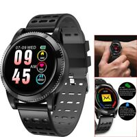 Men Smart Watch Heart Rate Monitor Phone Mate for iPhone Samsung Galaxy Note 9 8