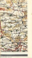 Eckartsberga Bibra Bucha 1912 Teilkarte/Ln. Herrengosserstedt Wippach Tromsdorf