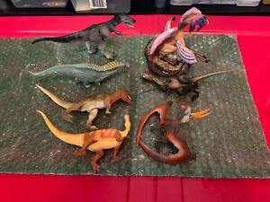 Dinosaur Lot Carnegie Safari, Collecta, Bullyland, Geoworld, Invicta, Battat