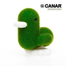 Dhink Dhink299-11 Canar 16cm Heart-shaped Banker Duck CANDY Series Tactile Grass