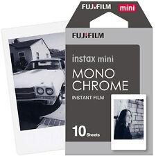New 10pcs Monochrome Fujifilm Instax Mini Instant Film for Mini 7s 8 25 50s 90