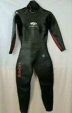 Blueseventy Fusion Full Sleeve Triathlon Wetsuit Womens SIZE WML Black Pink