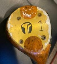 TEMPO GOLF PERSIMMON DRIVER R/H STEEL SHAFT