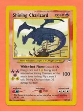 Pokemon Shining Charizard Neo Destiny Secret Rare 107/105 Moderately Played