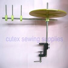 "Sewing Machine Binding & Tape Holder Reel With Mounting Clamp, 10"" Disc"