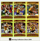 2010 AFL Teamcoach Trading Card Gold Parallel Team Set Hawthorn (12)