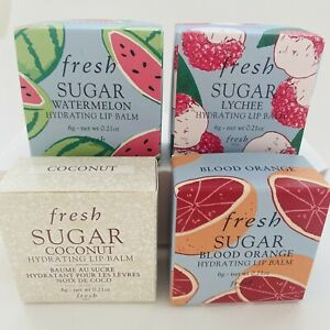Fresh Sugar Hydrating Lip Balm Choose 1 Color 6g Single