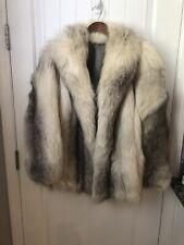 a92cc1f2e43 Elizabeth Arden Salon Fox fur coat, Hip length, Beautiful Condition Size M  10-