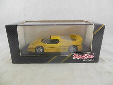 Detail Cars Art 391 1995 Ferrari F50 Coupe in Yellow scale 1:43 (Corgi)