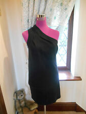 Simply beautiful All Saints Semele Dress Black Size 12 Excellent Condition