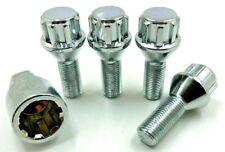 4 x  ALLOY WHEEL LOCKING BOLTS FOR AUDI TT M14 X 15 60 TAPER  NUTS LUGS STUDS 67