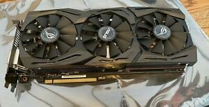 ASUS NVIDIA GeForce GTX 1080 8GB ROG Strix Advanced Gaming Aura RGB