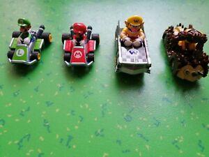 Lot de 3 Voitures de Circuit 24 CARRERA Mario Bros + Voiture GORMM MONDO MOTORS