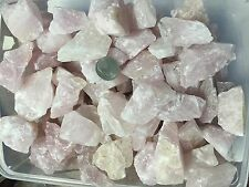 1lb Bulk Pink Rose Quartz Rough Natural Stones Wholesale
