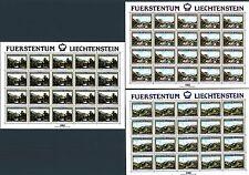 LIECHTENSTEIN - 1982 - 150° della nascita del M. Mezinger