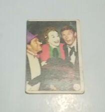 ORIGINAL SERIES BATMAN 1966 BAT LAFFS TRADING CARD #47 THE JOKER ENGLAND 66 VGC