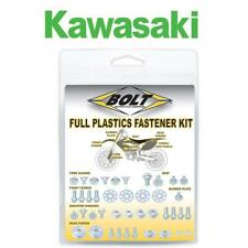 KAWASAKI BOLT SET PLASTIC FASTENER KIT KX 65 2000 - 2019 MOTOCROSS BOLT HARDWARE