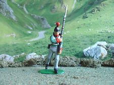 Hat Napoleonic Baden infantry soldier marching 1:32 painted