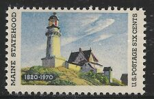 US Scott #1391, Single 1970 Maine Statehood 6c FVF MNH