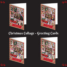 Love is Being Owned Christmas Dog Cat Pet Photo Greeting Invitation Card