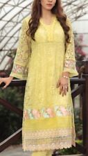 Pakistan Embroidered Stitched Salwar Kameez 2 Pcs M Size Chest 36 NO  Duppa