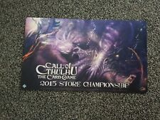 Call of Cthulhu The Card Game 2015 Store Championship Playmat